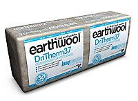 Knauf Earthwool Wool Cavity slab (L)1.2m (W)0.46m (T)100mm, Pack of 8