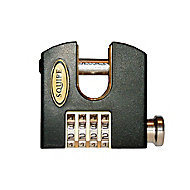 Squire Stronghold Brass & Steel Combination Padlock (W)65mm