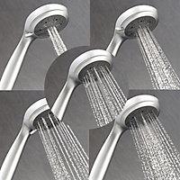 Triton Trance White Chrome effect Electric Shower, 8.5kW