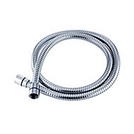 Triton Chrome effect Stainless steel Shower hose, (L)1.25m