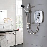 Triton Trance White Electric shower, 10.5 kW
