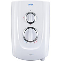 Triton T70GSI+ White Electric Shower, 9.5kW