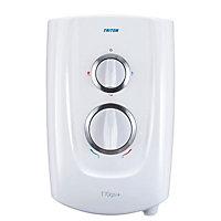 Triton T70GSI+ White Electric shower, 10.5 kW