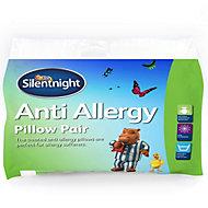 Silentnight Anti-Allergy White Pillow, Pack of 2