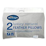 Silentnight White Pillow, Pack of 2