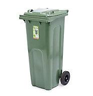Blooma Green Outdoor litter bin 140L