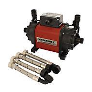 Watermill 1.5 bar Shower pump (H)185mm (W)120mm (L)300mm