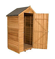 Forest 4x3 Apex Overlap Wooden Shed