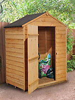 Forest Garden 5x3 Apex Overlap Wooden Shed