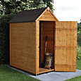 5x3 Forest Apex roof Overlap Wooden Shed