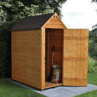 Forest 3x5 Apex Overlap Wooden Shed
