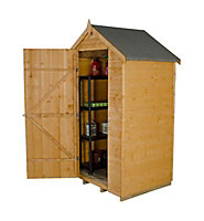 Forest Garden Forest 4x3 Apex Shiplap Wooden Shed