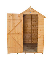 6x4 Forest Apex roof Shiplap Wooden Shed