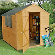 8x6 Forest Apex roof Shiplap Wooden Shed