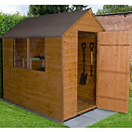 7x5 Forest Apex roof Overlap Wooden Shed