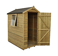 Forest 6x4 Apex Tongue & groove Wooden Shed