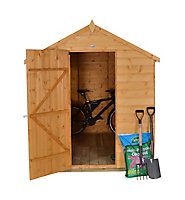 Forest 8x6 Apex Shiplap Wooden Shed (Base included)