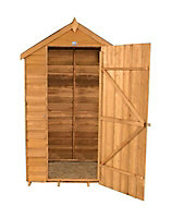 Forest 4x3 Apex Overlap Wooden Shed - Assembly service included