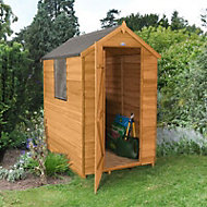 Forest 6x4 Apex Overlap Wooden Shed - Assembly service included
