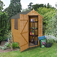 Forest 6x4 Apex Shiplap Wooden Shed - Assembly service included