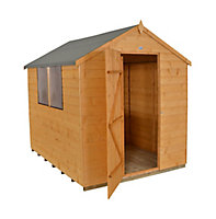 Forest Garden 8x6 Apex Shiplap Wooden Shed - Assembly service included