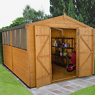 12x8 Forest Apex roof Shiplap Wooden Shed