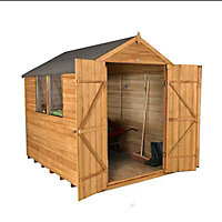 Forest 8x6 Apex Overlap Wooden Shed