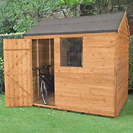 8x6 Forest Reverse apex Overlap Wooden Shed