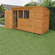 Forest 10x6 Pent Overlap Wooden Shed