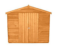 Forest 12x8 Apex Overlap Wooden Shed - Assembly service included