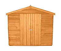 Forest Garden 12x8 Apex Overlap Wooden Shed - Assembly service included