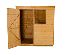 Forest 6x4 Pent Shiplap Wooden Shed (Base included)