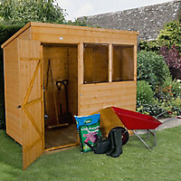 7x5 Forest Pent Shiplap Wooden Shed