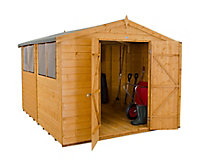 Forest 10x8 Apex Shiplap Wooden Shed - Assembly service included