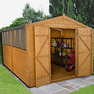 Forest 12x8 Apex Shiplap Wooden Shed - Assembly service included