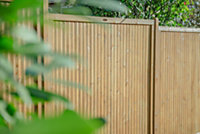 Forest Garden Decibel Noise Reduction Fence panel (W)1.83m (H)1.8m, Pack of 4