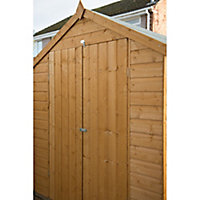 Forest Garden 8x6 Apex Shiplap Wooden Shed (Base included) - Assembly service included