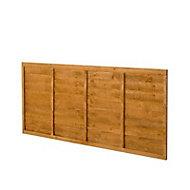 Premier Lap Fence panel (W)1.83 m (H)0.91m, Pack of 5