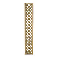 Wooden Rectangle Trellis (H)1.8m(W)0.3m, Pack of 3