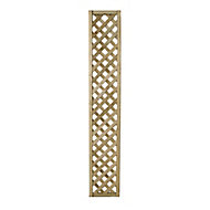 Wooden Rectangle Trellis (H)1.8m(W)0.3m, Pack of 4