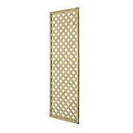 Wooden Rectangle Trellis (H)1.8m(W)0.6m, Pack of 3