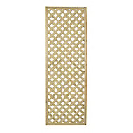 Wooden Rectangle Trellis (H)1.8m(W)0.6m, Pack of 4