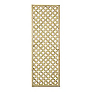Wooden Rectangle Trellis (H)1.8m(W)0.6m, Pack of 5