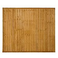 Wood Closeboard Fence Panel (W)1.83 m (H)1.52m
