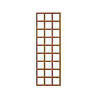 Wooden Rectangle Trellis (H)1.83m(W)0.61m, Pack of 4