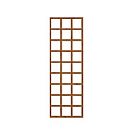 Wooden Rectangle Trellis (H)1.83m(W)0.61m, Pack of 5