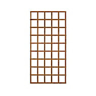 Wooden Rectangle Trellis (H)1.83m(W)0.91m, Pack of 3