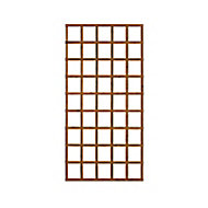 Wooden Rectangle Trellis (H)1.83m(W)0.91m, Pack of 4