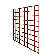 Wooden Square Trellis (H)1.83m(W)1.83m, Pack of 4