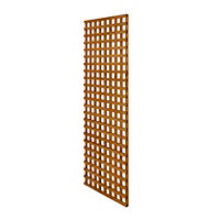 Wooden Rectangle Trellis (H)1.83m(W)0.63m, Pack of 3